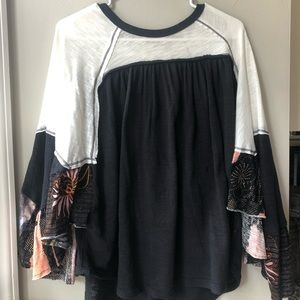 Free People Patterned Flowy Too